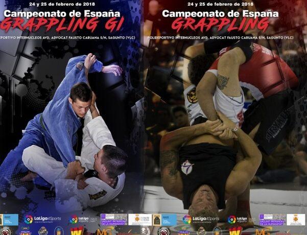 Campeonato España Grappling Gi y Grappling 2018